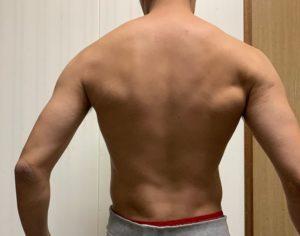 筋トレ 背中 6ヶ月